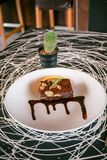 Choklad Brownie Candy royaltyfria bilder