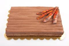 Choklad Cack arkivfoto