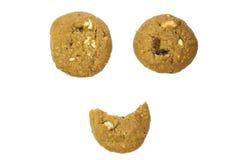 Choklad Chip Cookies Arkivfoto