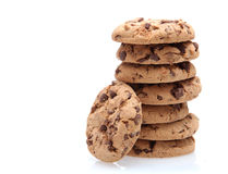 Choklad Chip Cookies Arkivbilder