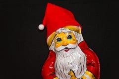 choklad claus santa Royaltyfri Fotografi