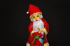 choklad claus santa Royaltyfri Bild