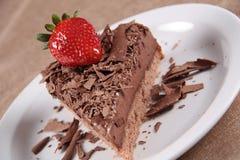choklad för 2 cake Arkivbilder