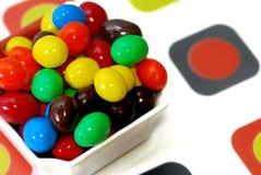 choklad för 4 godis Arkivfoton