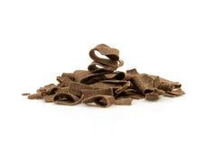 choklad flagar stapeln arkivbild