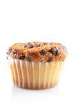 choklad isolerad muffin Arkivbilder