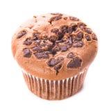 choklad isolerad muffin Arkivfoto