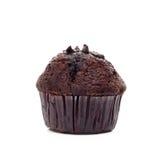 choklad isolerad muffin Royaltyfri Foto
