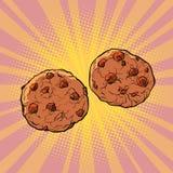 Choklad kaka vektor illustrationer