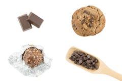 Choklad kaka Royaltyfri Fotografi