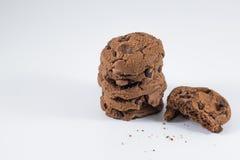 Choklad kaka Arkivbilder