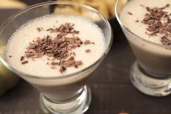 Choklad Martini av mjölkar, Amaretto, kaffe- och hasselnötlikör Royaltyfri Bild