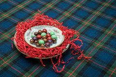 choklad räknade hasselnötter Arkivfoton