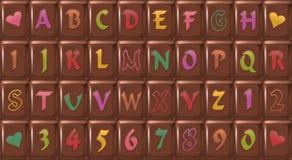 Choklad-stilsort Royaltyfria Bilder
