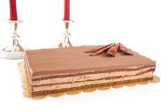ChokladCack bakgrund royaltyfria foton