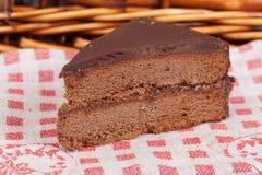Chokladcake Arkivfoton
