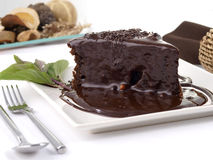 ChokladCake Fotografering för Bildbyråer