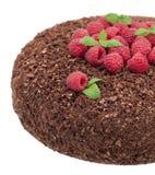Chokladcake royaltyfria bilder