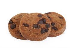 Chokladchip Arkivbild
