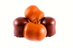 chokladcoockies Arkivbilder