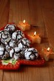 chokladcrinkles Royaltyfria Bilder