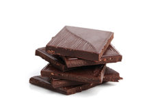 chokladdark Arkivfoton