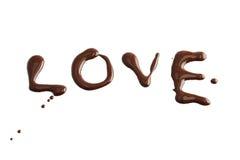 chokladdark Arkivfoto