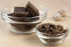 chokladdarknutmeg Royaltyfri Bild