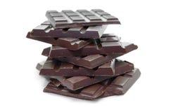 chokladdarktablets Arkivbild