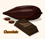 Chokladdesign Royaltyfri Fotografi