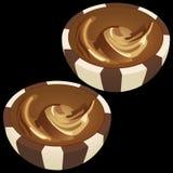 Chokladdragee Royaltyfria Bilder