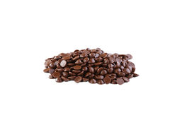 Chokladdroppar Fotografering för Bildbyråer
