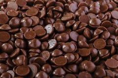 Chokladdroppar Royaltyfri Foto