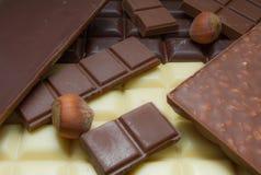 Choklader arkivbilder