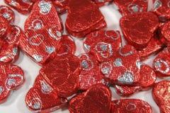Choklader för hjärta för dag för valentin` s Royaltyfri Foto