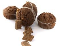 choklader långt Arkivbild