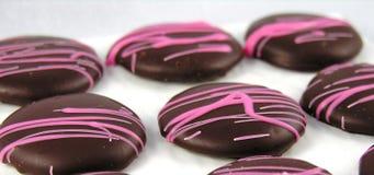 choklader stänger sig upp Arkivbild