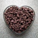 chokladförälskelse royaltyfria bilder