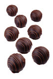 Chokladgodisar Arkivbild