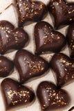 Chokladgodisarna Arkivbild