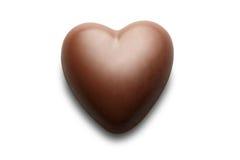 chokladhjärta Arkivbilder