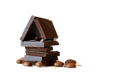 chokladhus Royaltyfri Fotografi