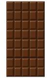 chokladillustration Arkivfoto