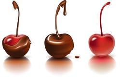Chokladkörsbär Arkivbilder