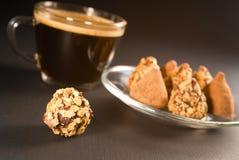 chokladkaffe Royaltyfria Foton
