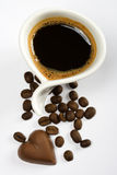 chokladkaffe Royaltyfri Bild