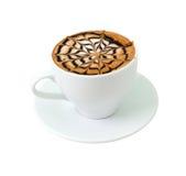 chokladkaffe som sent isoleras Royaltyfria Foton