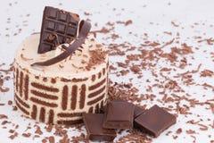 Chokladkaka Arkivfoton