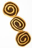 chokladkakahand - gjord swirl Royaltyfri Bild