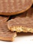 chokladkakor arkivfoto